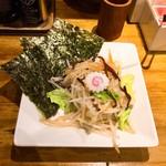 一風堂 - トッピングののりとタンメン野菜