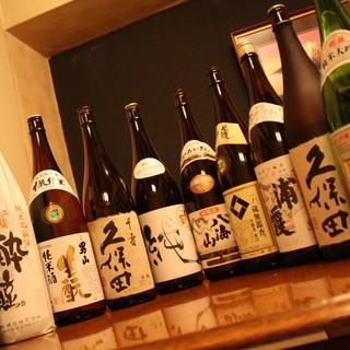 ビールや日本酒、焼酎の他、ワインやカクテルも豊富に揃えました