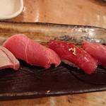 魚真 - まぐろづくし寿司!
