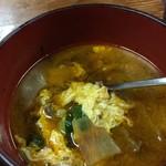 アリラン - ピリッと辛いスープ