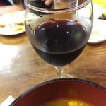 アリラン - 赤ワインもあります