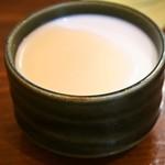 刀削麺 丸新 - ミルクプリン