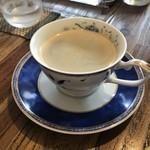 めし・カフェ・一風来 - 食後のコーヒー。
