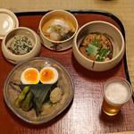 瓢亭 - 一の膳と名物 瓢亭玉子