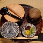 瓢亭 - 粥とお出汁と香の物