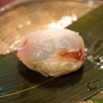 瓢亭 - 鯛のちまき寿司