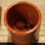 瓢亭 - 梅茶