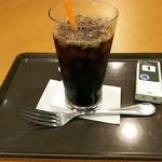 サンマルクカフェ 新さっぽろサンピアザ店 - アイスコーヒー。