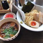 麺屋 承太郎 - 料理写真:冷やしつけ麺。紅天トッピング。