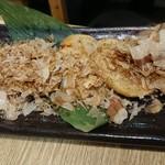 梅田産直市場 - 山芋ポタポタ焼き
