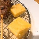 一π - 卓上燻製盛り合わせのチーズ