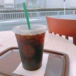 カフェ・ベローチェ - ドリンク写真:♦︎アイスコーヒーLサイズ 210円 サイズアップサービス!