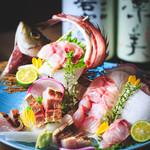 「ざるみせ鮮魚」お造り