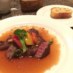 カフェ・レストランシブレット - おいしいお肉でした!
