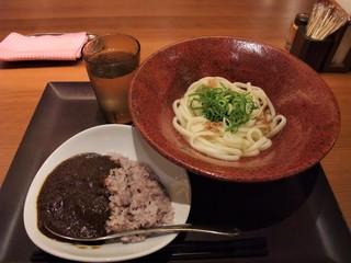 UDONつるこし 新宿京王モール店 - 朝の選べるご飯セット