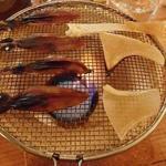 日本酒 ト ワイン 岡野 - 炙っているトコロ
