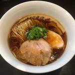 らぁ麺 すぎ本 - 「醤油らぁ麺」750円