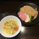 らぁ麺 すぎ本 - 「塩つけ麺」800円