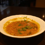 サルマ ティッカアンドビリヤニ - ダル(豆)カレー