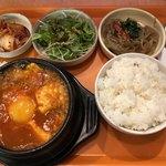 89129938 - スンドゥブチゲ定食(税込880円)