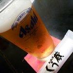 焼肉ショップ くう蔵 - 生ビール