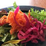 ラポートキッチン - 紫キャベツのマリネとキャロットラペ