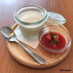 ラポートキッチン - イチゴのパンナコッタ