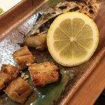 太助 - 料理写真:タチウオ塩焼き