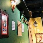 Cafe Destine - 壁面