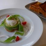 ブランチキッチン - ブリオッシュフレンチトーストブランチ