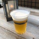 バーナクル・ビルズ - バドワイザー生ビール 620円。
