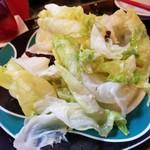 Shanhaichikinootsukashoukakurou - レタスと蝦みそ炒め
