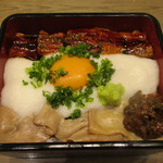牛たん炭焼 利久 - 牛たんしゃぶしゃぶ と 鰻とろ丼(╹◡╹)♡