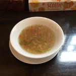 カマナ - スープ。
