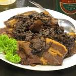 台湾客家料理 新竹 - 台湾高菜と豚バラ醤油煮(梅菜扣肉)