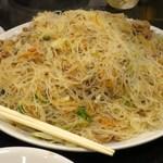台湾客家料理 新竹 - 新竹ビーフン炒め(炒米粉)