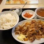 味中味 - ヤキニク定食750円
