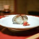 美山荘 - ☆鮎のお寿司
