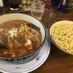 東池 おはこ 大勝軒 - 味噌つけ麺、つけダレたっぷりです