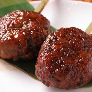 蔵之介名物絶品❗❗肉汁溢れる~「和牛生つくね」