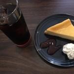 Yamaki COFFEE - 水出しコーヒー、ベイクドチーズケーキ