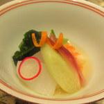 和食 浮橋 - 海老と烏賊の酢の物