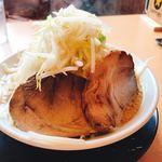 麺豪 織蔵 - 『織蔵ラーメン』横顔(^^)