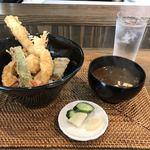とばり - 料理写真:天丼・塩