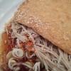 そばいち - 料理写真:ゴマ&七味on冷やしキツネ蕎麦