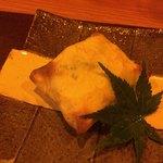さか本 - 牛頰肉とクレープの包み焼き