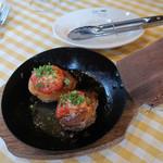 港町バル - おひさま椎茸の肉詰め
