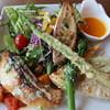カフェアンドレストラン バスティーユ - 料理写真:真鯛のポワレ ¥1,500