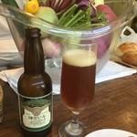 ランズ カマクラ - 鎌倉野菜と鎌倉ビール 月