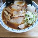麺屋 とろも - 料理写真:特製まる鶏煮干しラーメン 全部のせ
